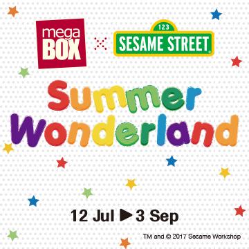 MegaBox x Sesame Street Summer Wonderland