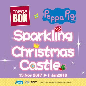 MegaBox x Peppa Pig Sparkling Christmas Castle