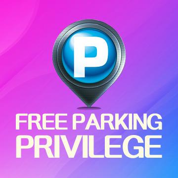 Free Parking Privilege