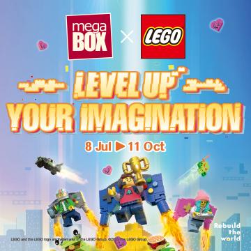MegaBox x LEGO® LEVEL UP Your Imagination