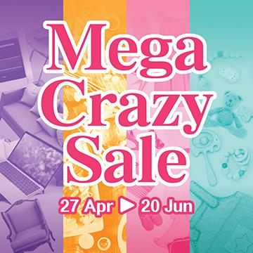 MegaBox Mega Crazy Sale