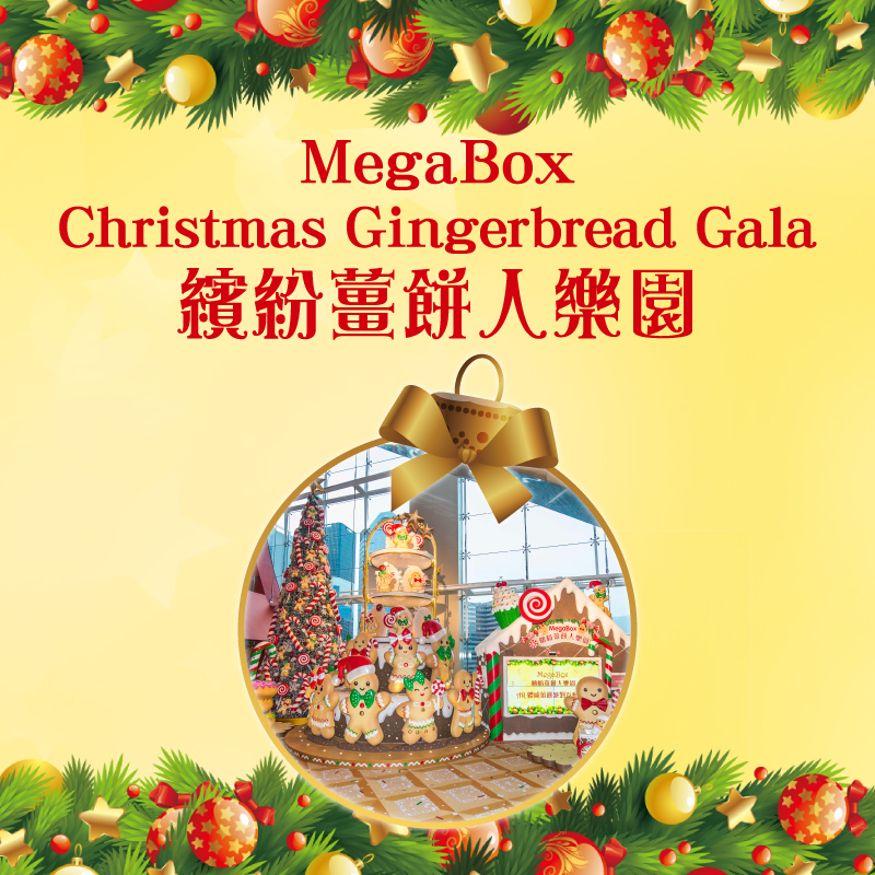 MEGABOX CHRISTMAS GINGERBREAD GALA