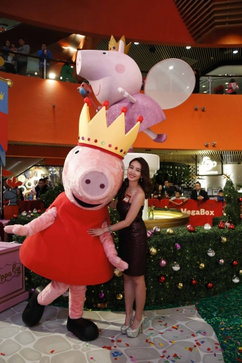 MegaBox x Peppa Pig Sparkling Christmas Castle Kickoff Ceremony