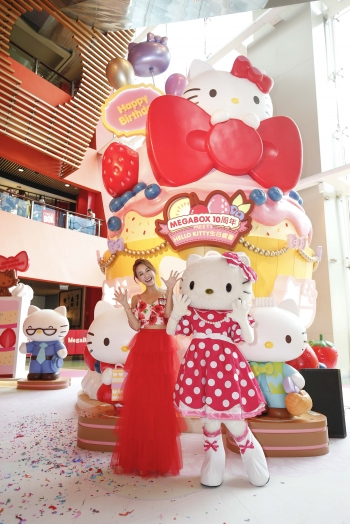 MegaBox Meets Hello Kitty生日派对