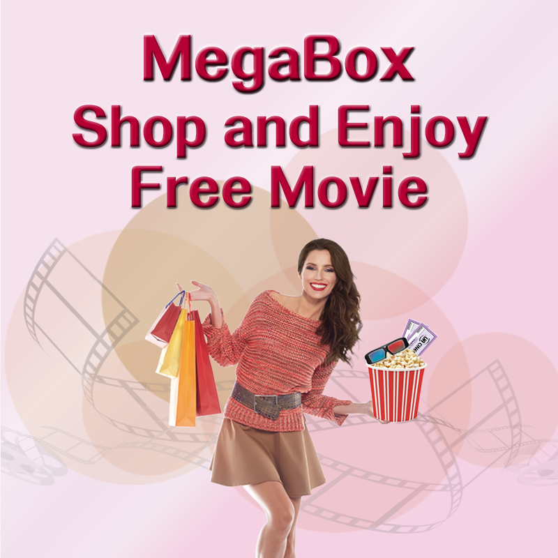 MegaBox Shop and Enjoy Free Movie