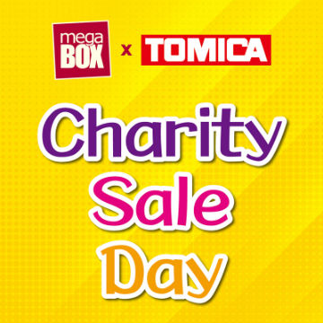 MegaBox x TOMICA Charity Sale Day