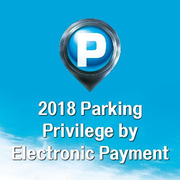 Parking Privilege by Electronic Payment 2018